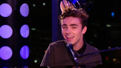 Sam & Mark's Big Friday Wind-Up  - Nathan Sykes performs Over And Over Again on Wind-Up