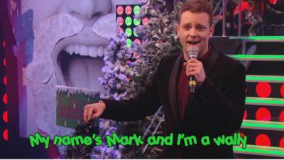 Sam & Mark's Big Friday Wind-Up  - Mark does Christmas Karaoke