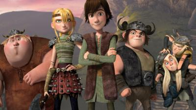 Blue Peter - The author of 'How To Train Your Dragon' answers your questions
