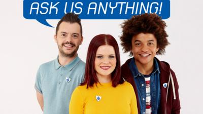 Blue Peter - Ask the Blue Peter presenters anything