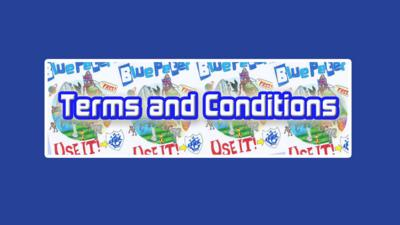 Blue Peter - Badge Attractions Terms and Conditions