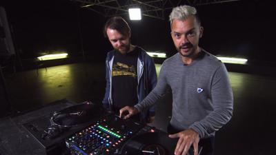 Blue Peter - Barney becomes a scratch DJ