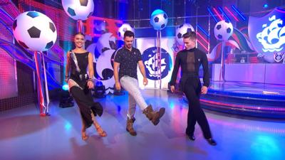 Blue Peter - Try this easy Latin dance step