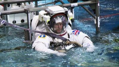 Blue Peter - What do astronauts do for Christmas?