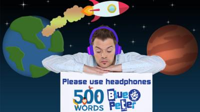 Blue Peter - Sam the Spaceman by Barney Harwood