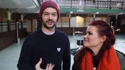 Blue Peter - Behind the scenes of Blue Peter's new song