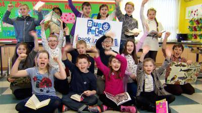 Blue Peter - Best Book with Facts shortlist