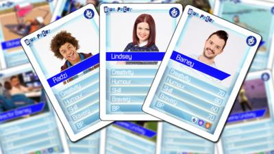 Blue Peter - Blue Peter Challenge Cards