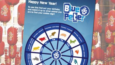 Blue Peter - What Zodiac animal are you?