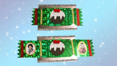 Blue Peter - Make a surprise cracker Christmas card