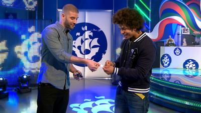 Blue Peter - Darcy Oake's Amazing Magic Trick