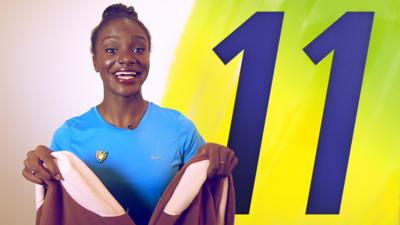 Blue Peter - Dina Asher-Smith's 11-Second Challenge