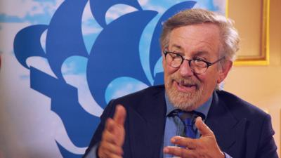 Blue Peter - Steven Spielberg's advice for young filmmakers