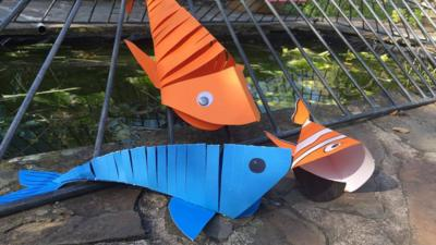 Blue Peter - Make a moving fish decoration