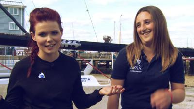 Blue Peter - How to get into sailing
