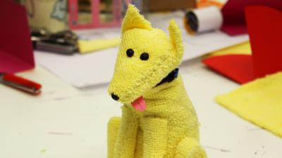 Blue Peter - How to make an Iggy the Dog toy