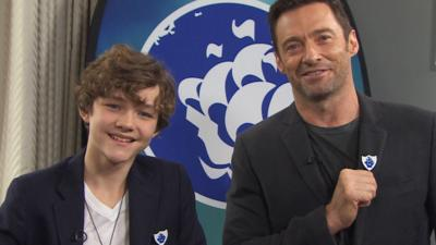 Blue Peter - Hugh Jackman and Levi Miller answer your questions