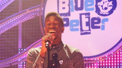 Blue Peter - Jermain Jackman performs How Will I Know