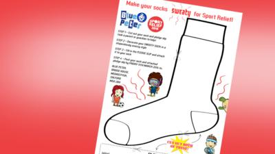 Blue Peter - Send us your sweaty socks for Sport Relief!