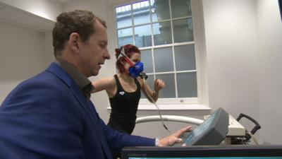 Blue Peter - Lindsey's Fitness Test
