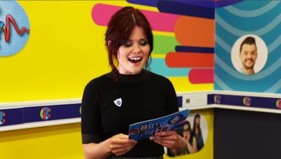 Blue Peter - Lindsey reads your gobblefunk words