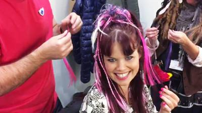 Blue Peter - Lindsey's new hairstylist