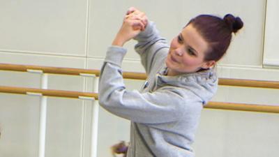 Blue Peter - Lindsey's ballet challenge