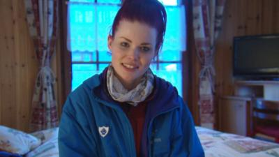 Blue Peter - Sneak Peek - Lindsey's Mountain Marathon Part 1