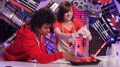 Blue Peter - How to make fake blood
