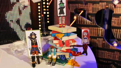 Blue Peter - How to make your own bookmark