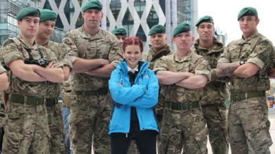 Blue Peter - Watch from a Marine's point of view