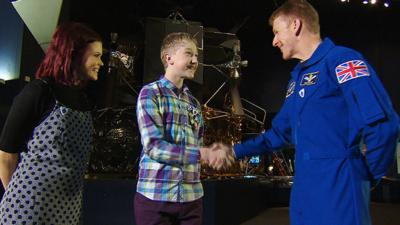 Blue Peter - The winner of the Mission Patch Competition
