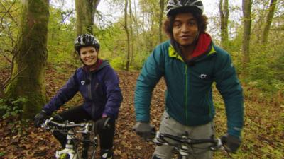 Blue Peter - Mountain Bike Challenge Bloopers