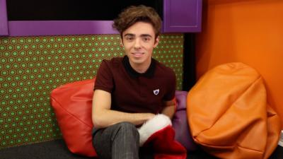 Blue Peter - Nathan Sykes's favourite emoji