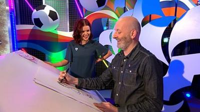 Blue Peter - Nick Sharratt answers your questions