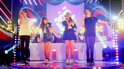 Blue Peter - The X Factor's Only The Young perform 'I Do'