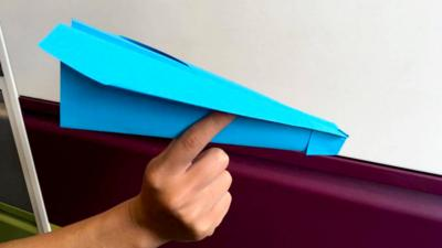 Blue Peter - How to make the ultimate paper plane