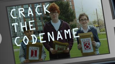 Blue Peter - Can you crack the codename?