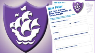 Blue Peter - Have you got your purple badge?