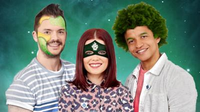 Blue Peter - Quiz: Are you a Green Badge superhero?
