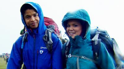 Blue Peter - Radzi and Lindsey take on Ten Tors