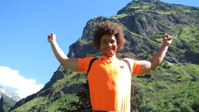 Blue Peter - Radzi's Big Climb Challenge