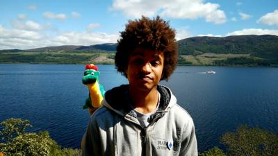Blue Peter - Radzi in search of the Loch Ness Monster