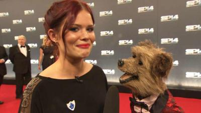 Blue Peter - Lindsey on the Red Carpet at YSPOTY