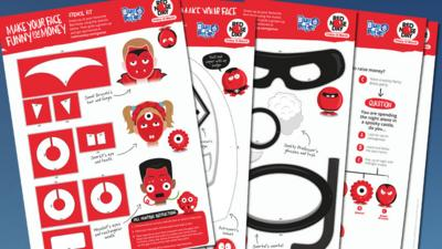Blue Peter - Things to do for Red Nose Day