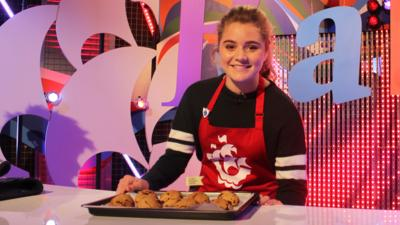 Blue Peter - Tilly's Father's Day rock cakes