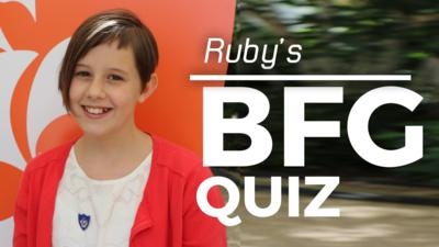 Blue Peter - Play Ruby's BFG Quiz