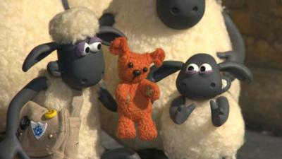 Blue Peter - Behind the scenes at Shaun the Sheep