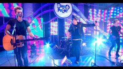 Blue Peter - The Vamps perform Oh Cecilia