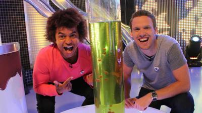 Blue Peter - Why do frobscottle bubbles float downwards?